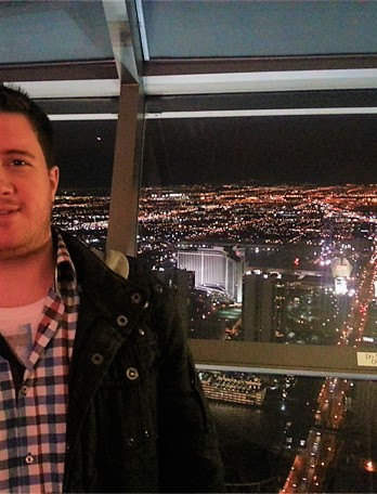 Vegas from Stratosphere Tower (~ 350m high)  |  Las Vegas, NV