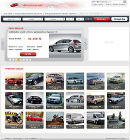 Web Based Vehicle Shopping System | Freelance Project